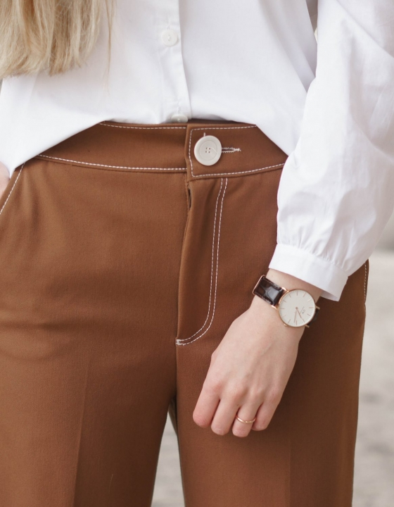 CULOTTES + PUFFED SHOULDERS